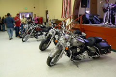 Checking Our The Harleys